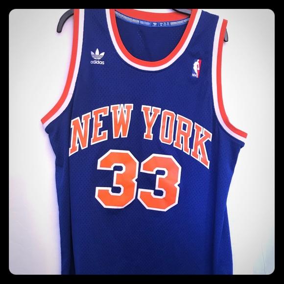 the best attitude c58fd 4f5f4 Adidas Patrick Ewing XL Knicks NBA Swingman Jersey